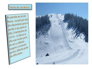 Partia de ski Borsa