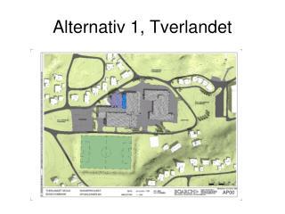 Alternativ 1, Tverlandet