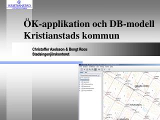 ÖK-applikation och DB-modell Kristianstads kommun