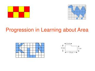 Progression in Learning about Area