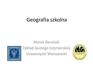 Geografia szkolna