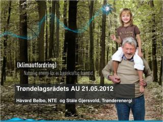 Trøndelagsrådets AU 21.05.2012 Håvard Belbo, NTE og Ståle Gjersvold, Trønderenergi