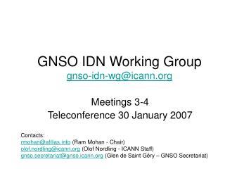 GNSO IDN Working Group gnso-idn-wg@icann