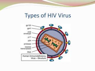 Types of HIV Virus