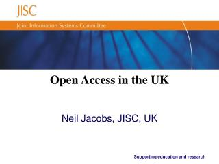 Open Access in the UK
