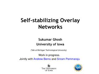 Self-stabilizing Overlay Networks