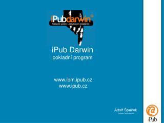 iPub Darwin pokladní program