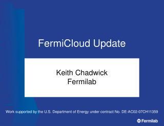 FermiCloud Update