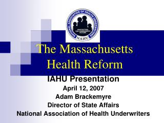 The Massachusetts Health Reform