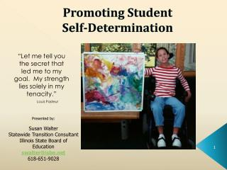 Promoting Student Self-Determination