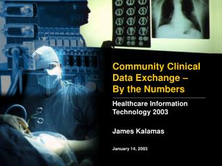 Community Clinical Data Exchange – By the Numbers