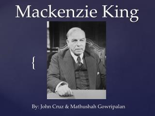 Mackenzie King