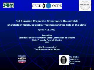 3rd Eurasian Corporate Governance Roundtable