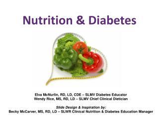 Nutrition & Diabetes