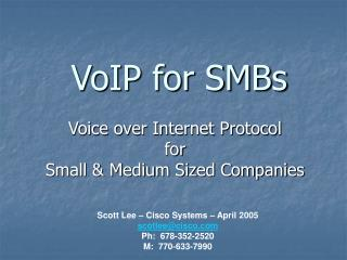 VoIP for SMBs