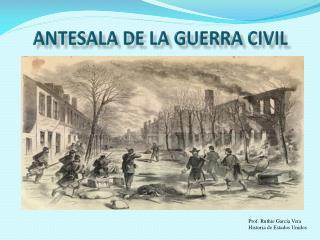 Antesala de la Guerra Civil