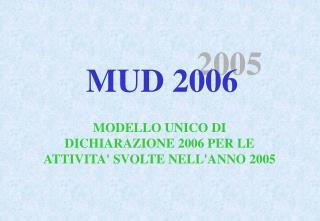 MUD 2006