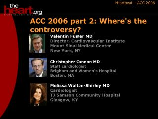 ACC 2006 part 2: Where's the controversy?