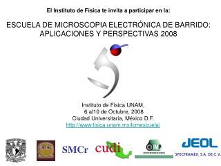 El Instituto de Física te invita a participar en la: