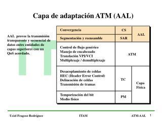 Capa de adaptación ATM (AAL)