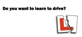 Do you want to learn to drive?