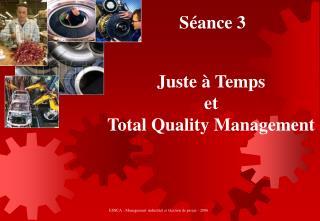 ESSCA - Management industriel et Gestion de projet - 2006