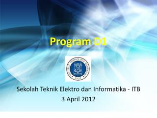 Program D1