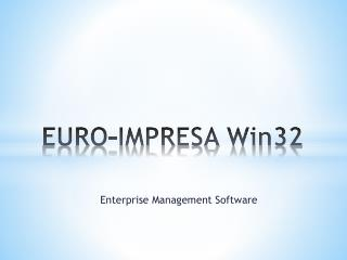 EURO-IMPRESA Win32