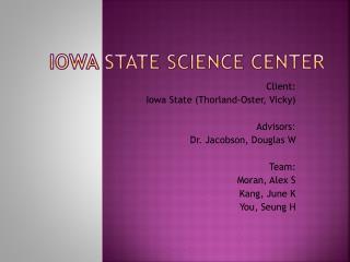 Iowa State Science Center