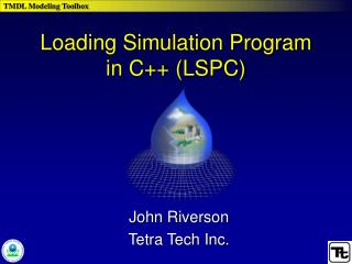 Loading Simulation Program in C++ (LSPC)