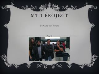 MT 1 project