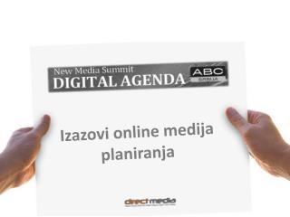 Iz azovi online medija planiranja