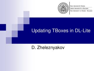 Updating TBoxes in DL-Lite