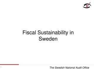 Fiscal Sustainability in Sweden