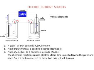 ELECTRIC CURRENT SOURCES