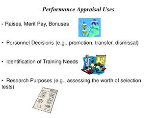 Performance Appraisal Uses