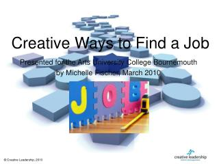 Creative Ways to Find a Job