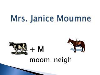 Mrs. Janice Moumne