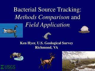 Ken Hyer, U.S. Geological Survey Richmond, VA