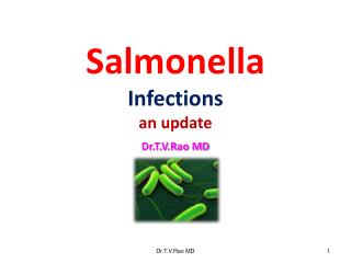 Salmonella Infections  an update