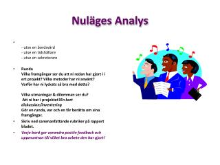 Nuläges Analys