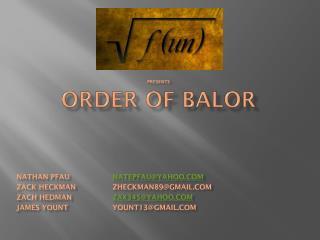 Order of Balor