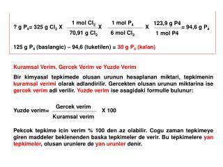 1 mol Cl 2 70,91 g Cl 2