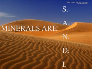 S. A. N. D. I.