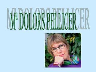 Mª DOLORS PELLICER