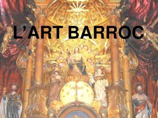 L'ART BARROC