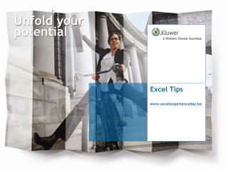 Excel Tips excelexperienceday.be