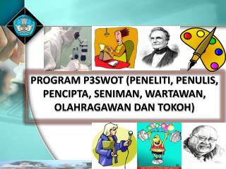 PROGRAM P3SWOT (PENELITI, PENULIS,  PENCIPTA, SENIMAN, WARTAWAN, OLAHRAGAWAN DAN TOKOH)