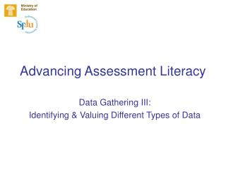 Advancing Assessment Literacy
