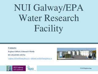 NUI Galway/EPA Water Research Facility